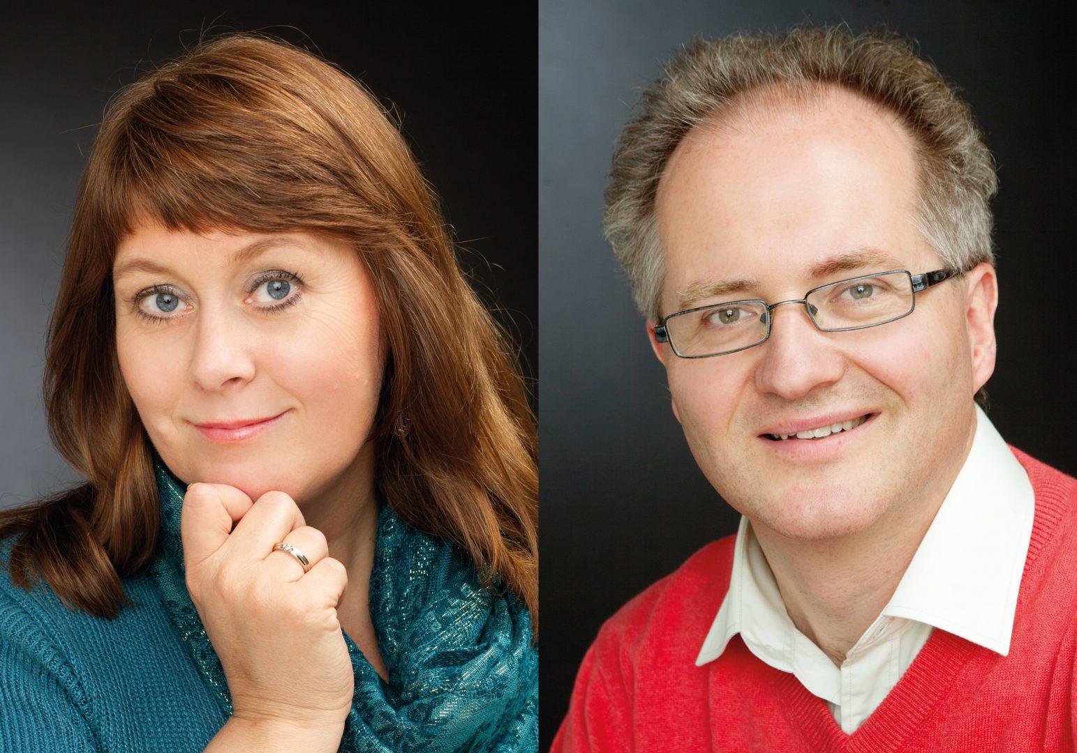 Anne Mette Sannes og Knut Jørgen Røed Ødegaard. FOTO: http://www.starship.no/pages/omoss.html