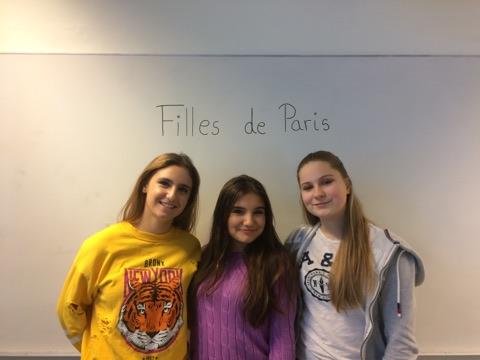 Filles de Paris; smaken av Frankrike