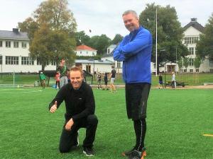 Knut-Arne og Andreas er lærere i fysisk aktivitet og helse.