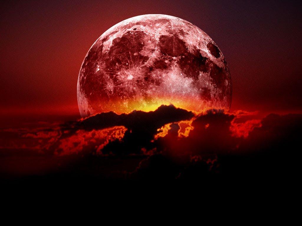 Dette er hvordan en blodmåne kan se ut . FOTO:https://i.pinimg.com/originals/42/cb/45/42cb458b9508d27385e20a876e2bec90.jpg