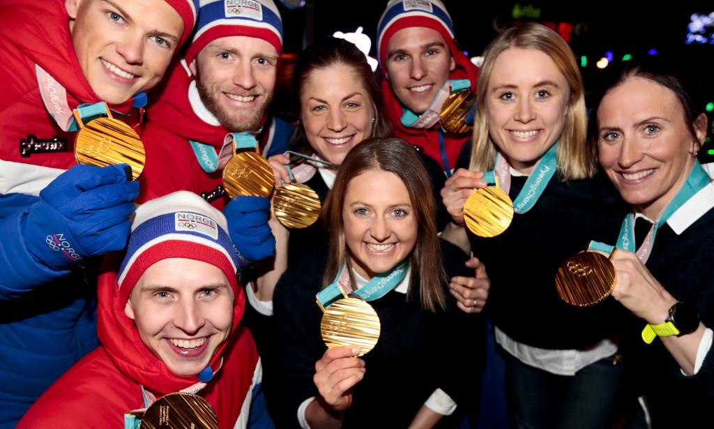 Norge med medaljerekord