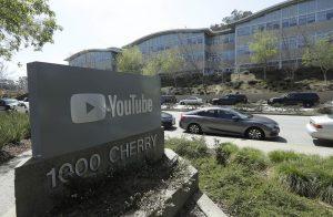 Skyteepisode på YouTube's hovedkvarter