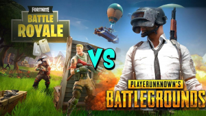 Figur 1: «Fortnite Battle Royale vs PUBG»